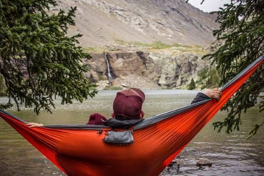 Hammock camping adventure