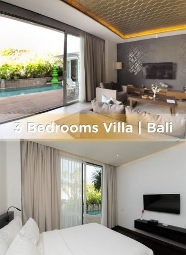 3 bedroom villa Seminyak for better coastal vibe experience in Bali