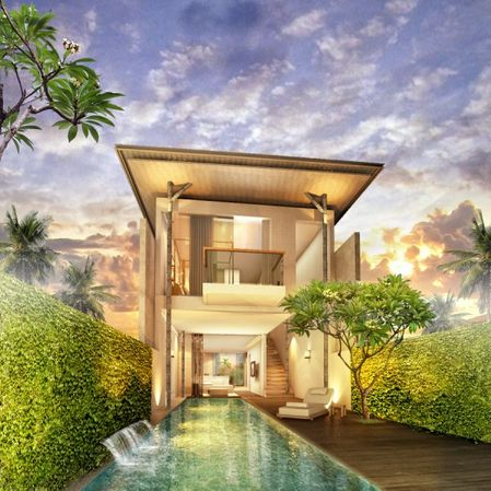 Luxury Villas Seminyak - the Bedroom On The Loft