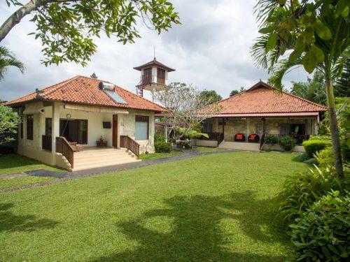 Traditional Ubud villas