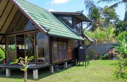 Sustainable concept Ubud villas