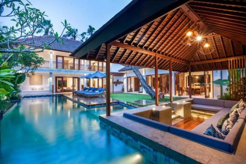 Seminyak villas with outdoor private pool