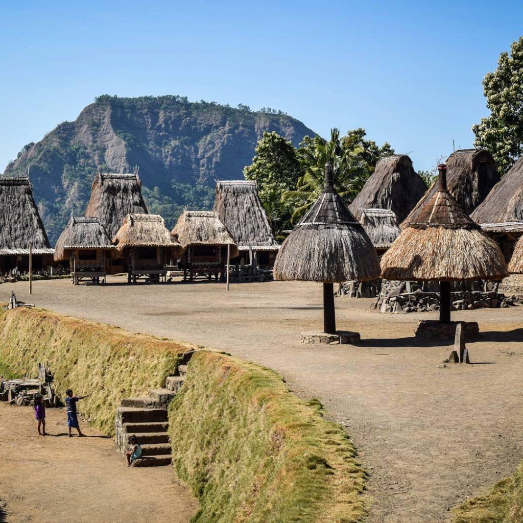 Bena Village, Hidden in the Shadow of Mountain