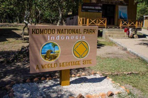 Komodo national park entrance