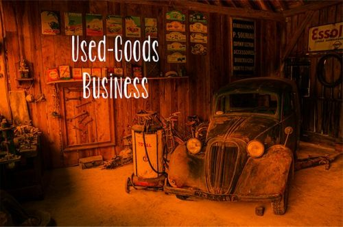 How to get successful in used goods business?