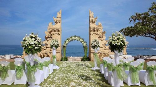 destination wedding paradise island