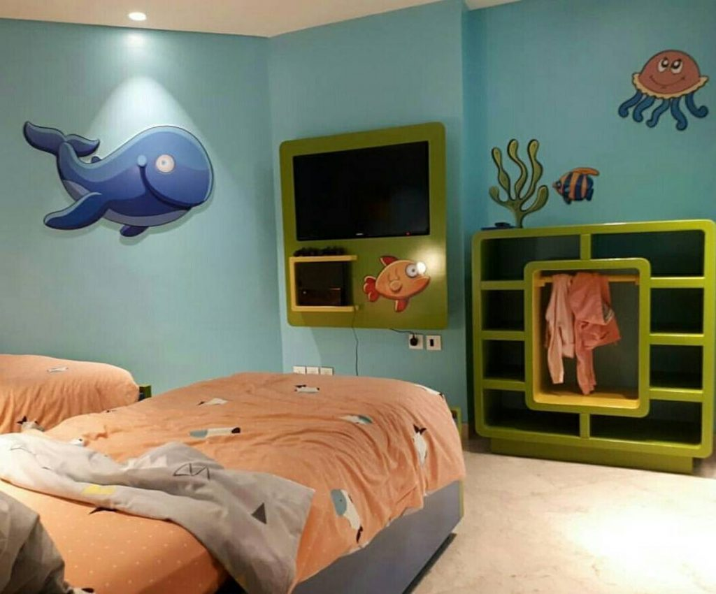 Kids Room with Kids Amenities and Decoration