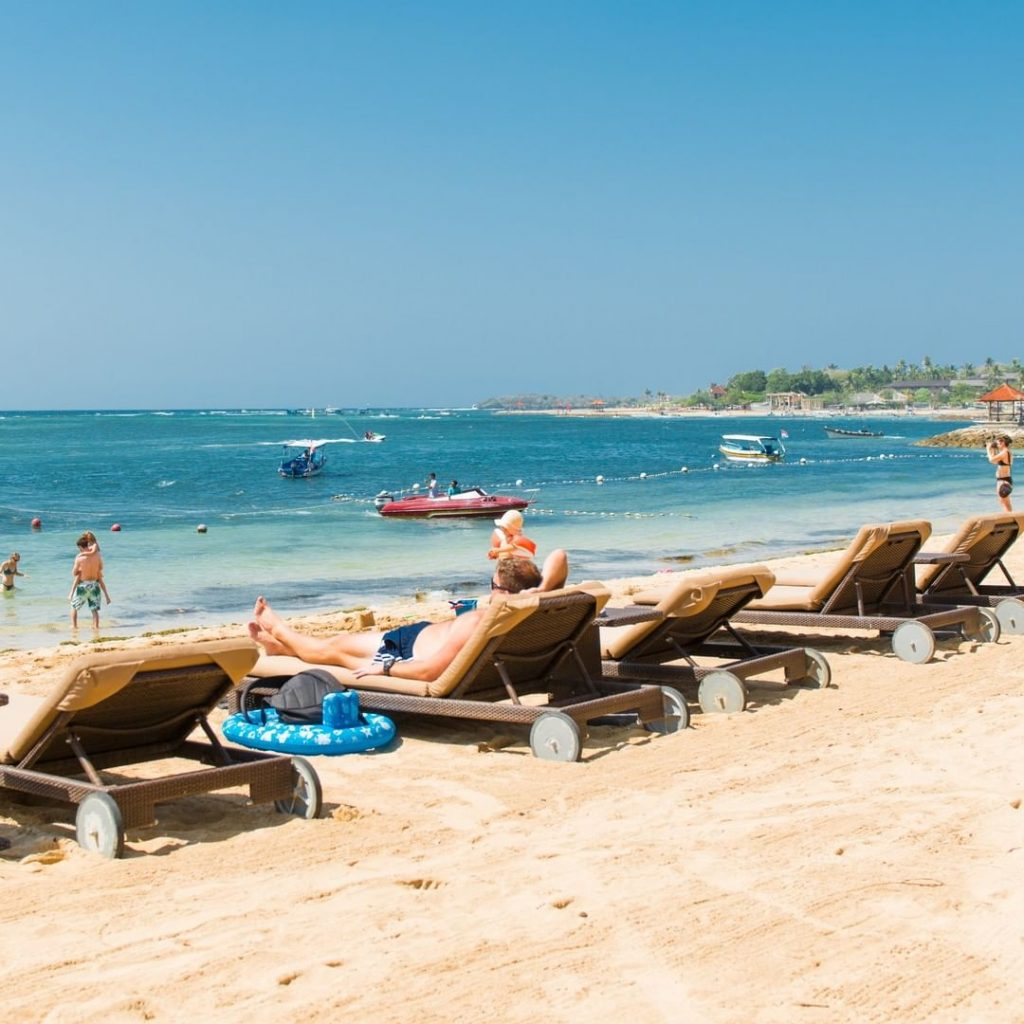 Some of Us Just Want to Sit Back and Relax at the Nusa Dua Beach Resort